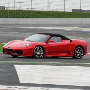 Ferrari F430 Driving in Montmeló GP 4,7km (Barcelona)