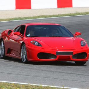Ferrari F430 F1 Driving in Motorland Escuela 1,7km (Teruel)