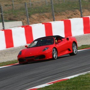 Ferrari F430 F1 Driving in Sevilla 1,5km (Sevilla)