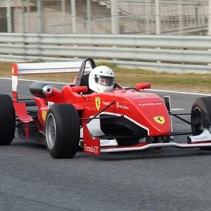 Formula 2.0 Driving in Montmeló Nacional 3km (Barcelona)