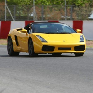 Lamborghini Gallardo Driving in FK1 2km (Valladolid)