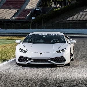 Lamborghini Huracán Driving in El Jarama 3,8km (Madrid)