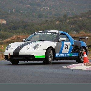 Porsche Boxster Cup Driving in Calafat 2,6km (Tarragona)
