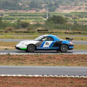 Extreme Porsche Drift Hot Laps in Calafat 2,6km (Tarragona)