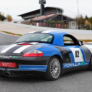 Porsche Boxster Cup Driving in Los Arcos 3,9km (Navarra)