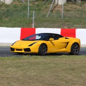 Lamborghini Hot Laps in Monteblanco 3,9km (Huelva)