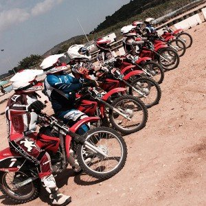 Motorcycle driving course in Cheste (Valencia)