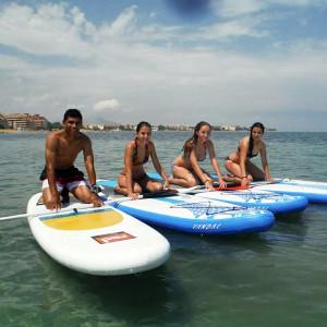 Paddle surf in Denia (Alicante)