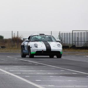 Porsche Asphalt Drift in Can Padró (Barcelona)