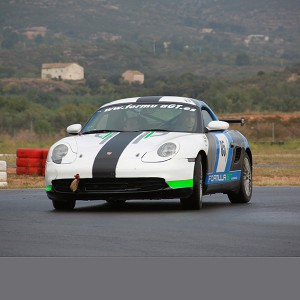 Porsche Drifting in Montmeló Drift (Barcelona)