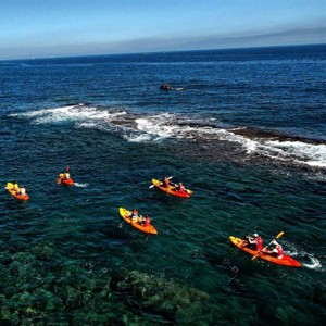 Kayak and snorkelling excursion in Valencia - kids from 6 to 12