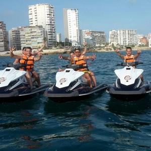 Jet ski Excursion in Altea (Alicante)