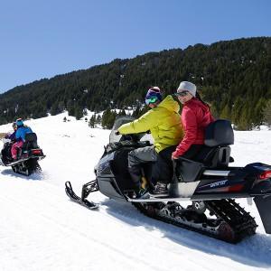 Snowmobile excursion for two 2019/20 season in Grandvalira (Andorra)