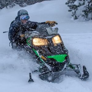 Snowmobile night excursion for two 2020/21 season in Grandvalira (Andorra)