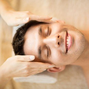 Millennium Man facial massage in Madrid
