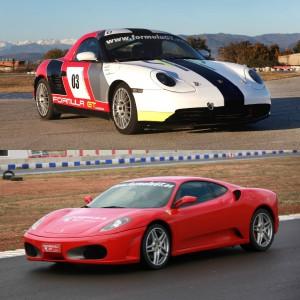 Ferrari + Porsche Drift in El Jarama 3,8km (Madrid)