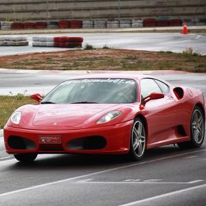 Ferrari Track and Highway Driving in Calafat 2,6km (Tarragona)