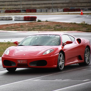 Ferrari Track and Highway Driving in Campillos 1,6km (Málaga)