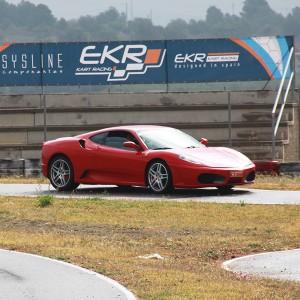 Ferrari Track and Highway Driving in Cheste 3,1km (Valencia)