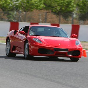 Ferrari Track and Highway Driving in Montmeló Escuela 1,7km (Barcelona)