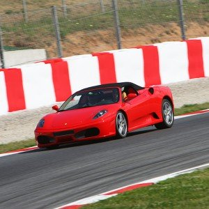 Ferrari Track and Lamborghini Highway Driving in Brunete 1,6km (Madrid)