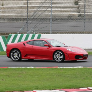 Ferrari Track and Lamborghini Highway Driving in Campillos 1,6km (Málaga)