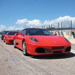 Ferrari Track and Lamborghini Highway Driving in Monteblanco 2,7km (Huelva)