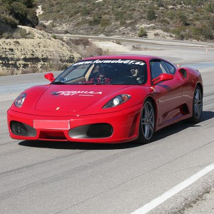 Ferrari Highway Driving in Alcañiz (Teruel)