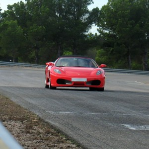 Ferrari Highway Driving in Cheste (Valencia)