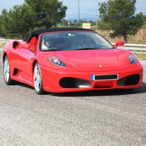 Ferrari Highway Driving in Los Arcos (Navarra)