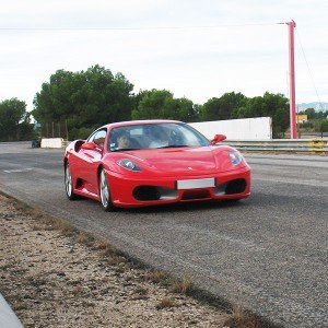 Ferrari Highway Driving in Villaverde de Medina (Valladolid)