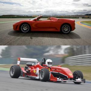 Ferrari + Formula 2.0 in Campillos 1,6km (Málaga)