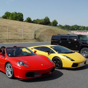 Ferrari and Lamborghini Track Driving in Can Padró 2,2km (Barcelona)