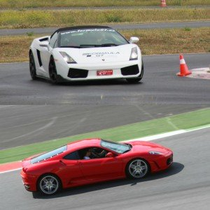 Ferrari and Lamborghini Track Driving in Kotarr 1,8km (Burgos)