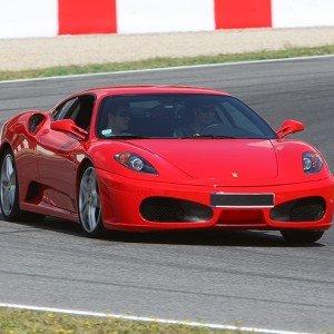 Ferrari + Lamborghini in Monteblanco 3,9km (Huelva)