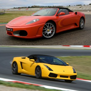 Ferrari and Lamborghini Track Driving in Sevilla 1,5km (Sevilla)