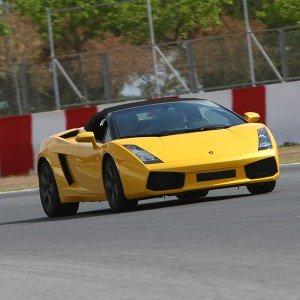Lamborghini Track and Highway Driving in Chiva 1,6km (Valencia)