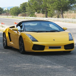 Lamborghini Track and Highway Driving in Kotarr 1,8km (Burgos)