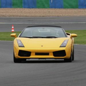 Lamborghini Track and Highway Driving in Monteblanco 2,7km (Huelva)