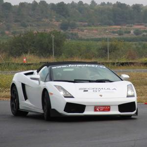 Lamborghini Track and Highway Driving in Motorland Escuela 1,7km (Teruel)