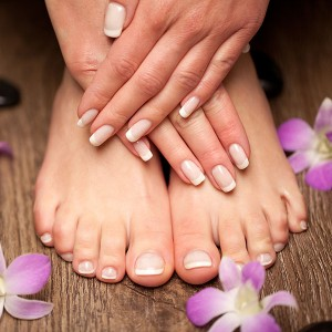 Manicure and pedicure in Madrid