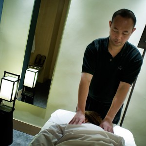 Shiatsu massage in Madrid