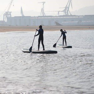 Paddle surf in Gijón (Asturias)