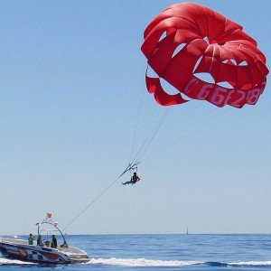 Parasailing in Denia (Alicante)
