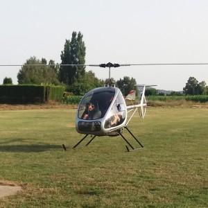Helicopter flight in L'Estartit (Girona)