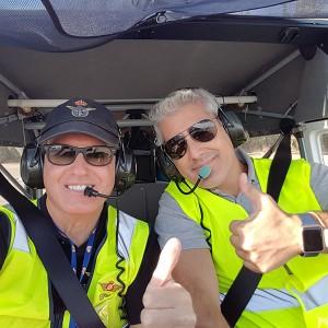 Fly a light aircraft in Córdoba