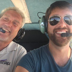 Fly a light aircraft (with guest) in Soria