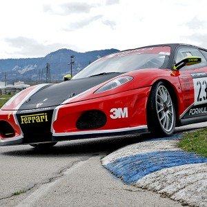 Ferrari F430 GTS Challenge Driving in Cheste 3,1km (Valencia)