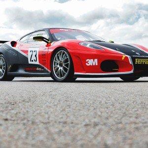 Ferrari F430 GTS Challenge Driving in Montmeló Nacional 3km (Barcelona)