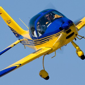 Fly a light aircraft in Sevilla